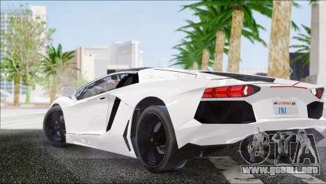 ENB Series HD v2 para los débiles y medianas PC para GTA San Andreas sucesivamente de pantalla