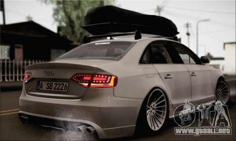 Audi S4 para GTA San Andreas left