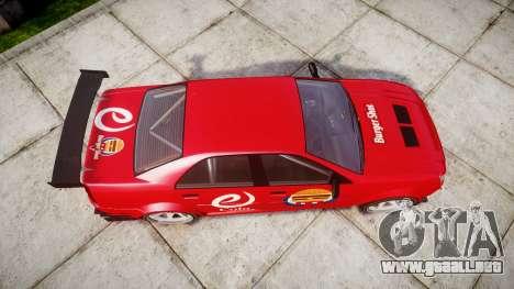 Albany Presidente Racer [retexture] eCola para GTA 4 visión correcta