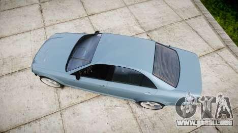 Benefactor Schafter Gen. 1 Grey Series para GTA 4 visión correcta