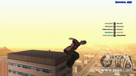 ped.ifp por Pavel_Grand para GTA San Andreas quinta pantalla