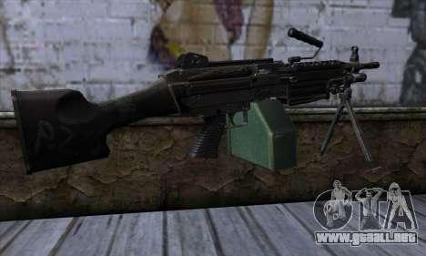 M249 v1 para GTA San Andreas segunda pantalla