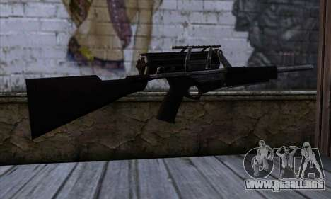 Calico M951S from Warface v2 para GTA San Andreas segunda pantalla