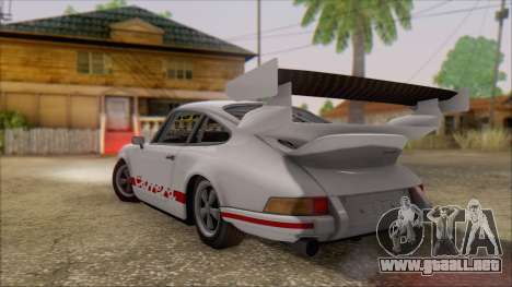 Porsche 911 Carrera 1973 Tunable KIT C para GTA San Andreas left