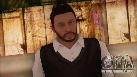 GTA 5 Online Skin 9 para GTA San Andreas tercera pantalla