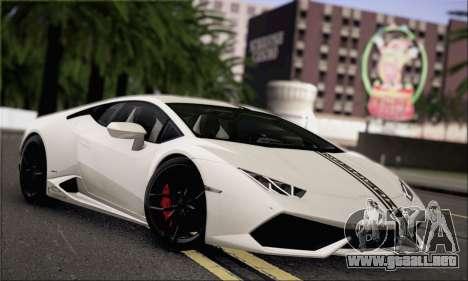 Lamborghini Huracan LP610-4 2015 Rim para la vista superior GTA San Andreas