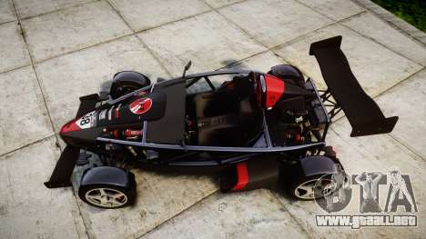 Ariel Atom V8 2010 [RIV] v1.1 VFF Telefonica para GTA 4 visión correcta