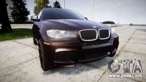 BMW X6M rims2 para GTA 4