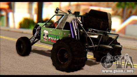 Buggy Fireball from Fireburst PJ para GTA San Andreas left
