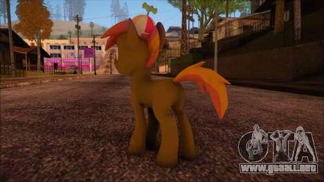 Button Mash from My Little Pony para GTA San Andreas segunda pantalla
