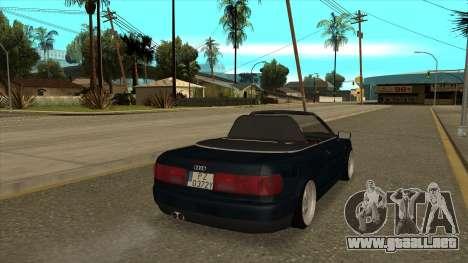 Audi 80 Cabrio para GTA San Andreas left