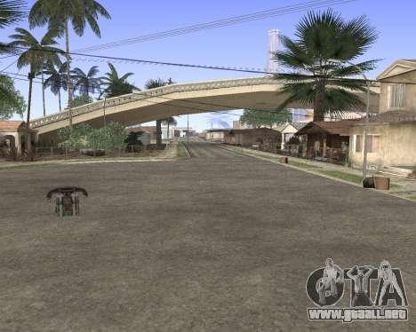 La textura de Los Santos de GTA 5 para GTA San Andreas sexta pantalla