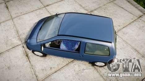 Renault Twingo I para GTA 4 visión correcta