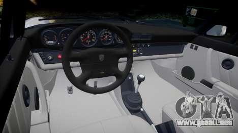 Porsche 911 (964) Coupe para GTA 4 vista interior