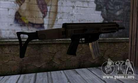 CZ805 из de Battlefield 4 para GTA San Andreas segunda pantalla