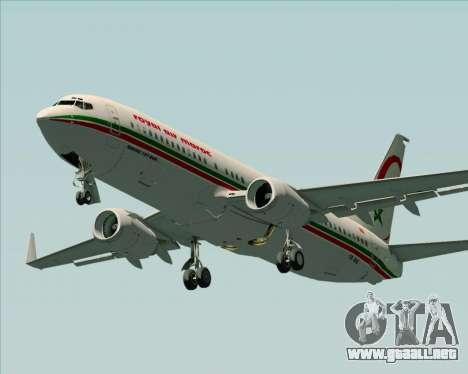Boeing 737-8B6 Royal Air Maroc (RAM) para el motor de GTA San Andreas