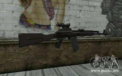 Glock-17 Silenced para GTA San Andreas segunda pantalla