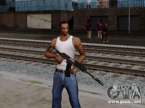 Heavy Shotgun GTA 5 (1.17 update) para GTA San Andreas segunda pantalla