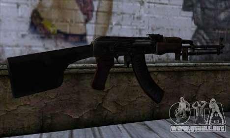 AK47 from State of Decay para GTA San Andreas segunda pantalla