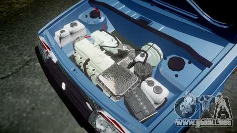 El USO de-Lada 2109 1500i para GTA 4 vista interior