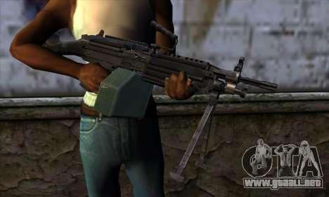 M249 v1 para GTA San Andreas tercera pantalla