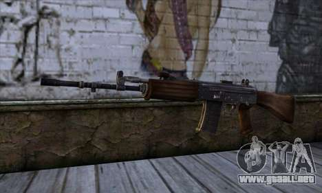IOFB INSAS from Sniper Ghost Warrior 2 para GTA San Andreas