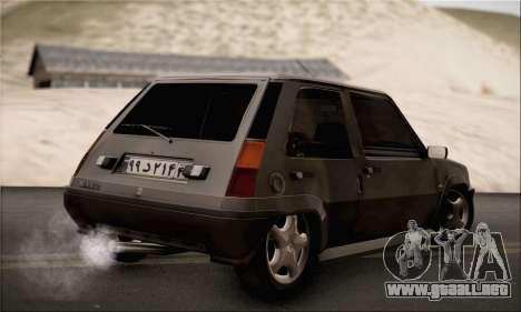 Renault 5 para GTA San Andreas left
