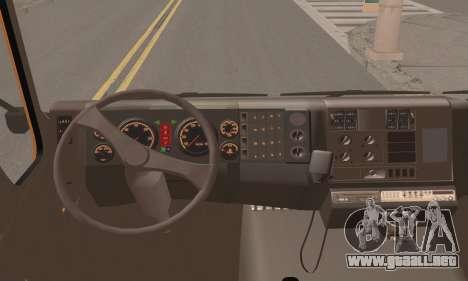 Roman Garbage para GTA San Andreas vista posterior izquierda