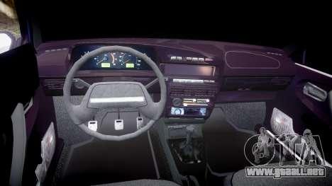 El USO de-Lada 2109 1500i para GTA 4 vista hacia atrás