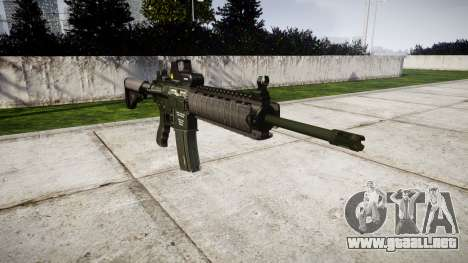 Máquina M4A1 para GTA 4