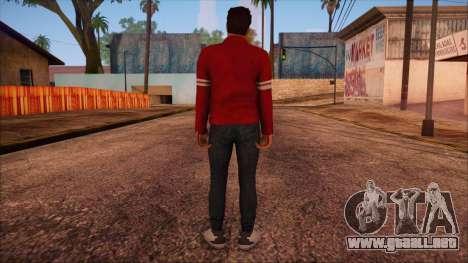 GTA 5 Online Skin 13 para GTA San Andreas segunda pantalla