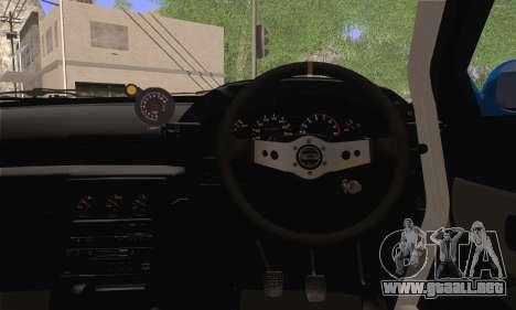 Nissan GT-R32 para GTA San Andreas vista posterior izquierda