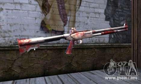 Chromegun Bloody para GTA San Andreas segunda pantalla