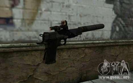 New  Silenced para GTA San Andreas segunda pantalla