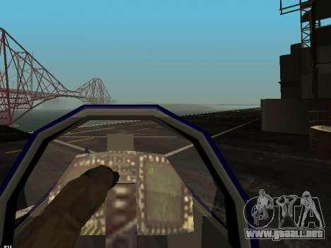 BlueAngels Hydra para visión interna GTA San Andreas
