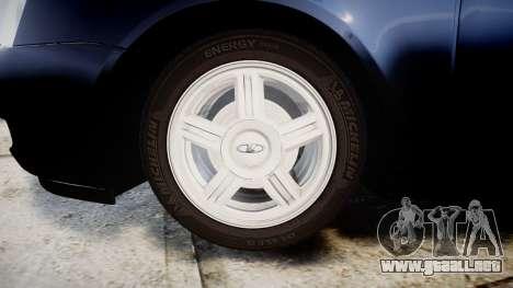 ВАЗ-2170 Lada Priora de stock para GTA 4 vista hacia atrás