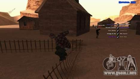 ped.ifp por Pavel_Grand para GTA San Andreas tercera pantalla