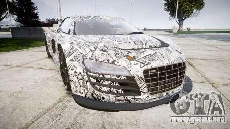 Audi R8 LMS Sharpie para GTA 4