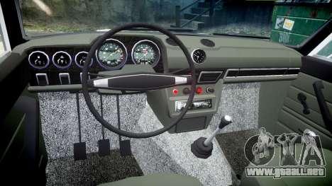 VAZ-2106 acuario para GTA 4 vista hacia atrás