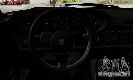 Porche 911 Turbo 1982 para la visión correcta GTA San Andreas