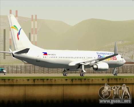 Boeing 737-800 South East Asian Airlines (SEAIR) para las ruedas de GTA San Andreas