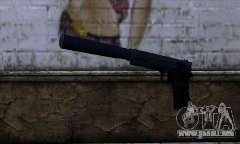 New Silenced Colt45 para GTA San Andreas