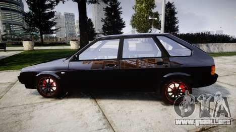 VAZ-2109 aleación para GTA 4 left