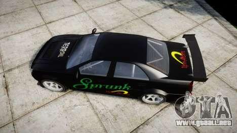 Albany Presidente Racer [retexture] Sprunk para GTA 4 visión correcta