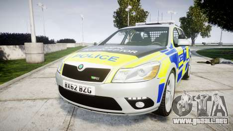 Skoda Octavia vRS Comb Metropolitan Police [ELS] para GTA 4