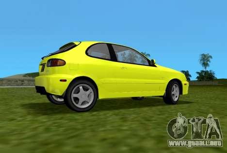 Daewoo Lanos Sport NOSOTROS 2001 para GTA Vice City left