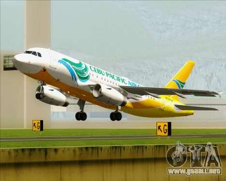 Airbus A319-100 Cebu Pacific Air para GTA San Andreas