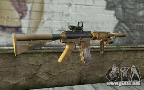 M4A1 Sopmod para GTA San Andreas segunda pantalla