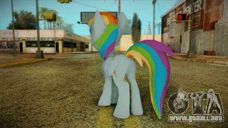 Rainbow Dash from My Little Pony para GTA San Andreas segunda pantalla