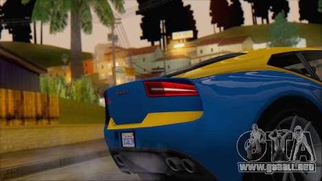 GTA 5 Lampadati Furore GT (IVF) para la visión correcta GTA San Andreas